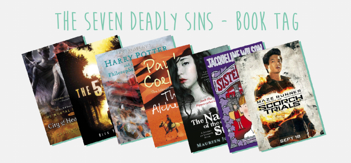 The Seven Deadly Sins – Book Tag