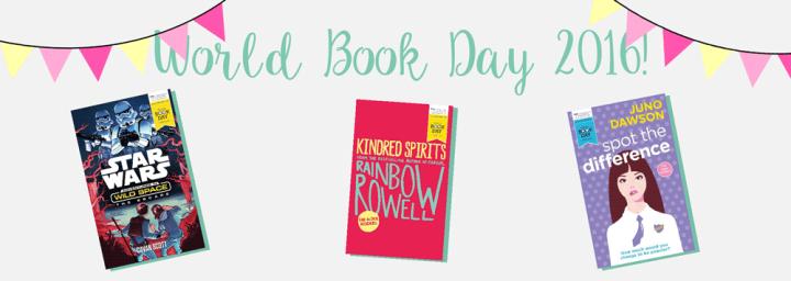 World Book Day2016!