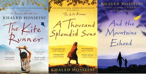 Image result for khaled hosseini books
