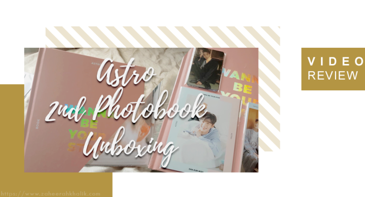 ASTRO (아스트로) 2ND MAKESTAR PHOTOBOOK UNBOXING