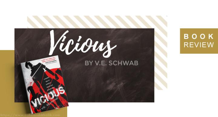 Review: Vicious (Villians#1)