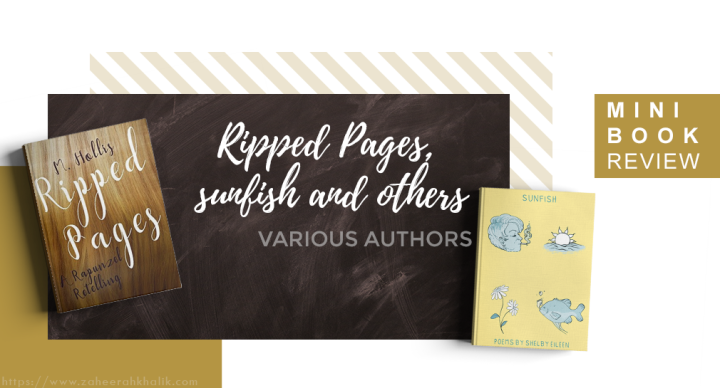 Mini-review: Ripped Pages, sunfish andothers