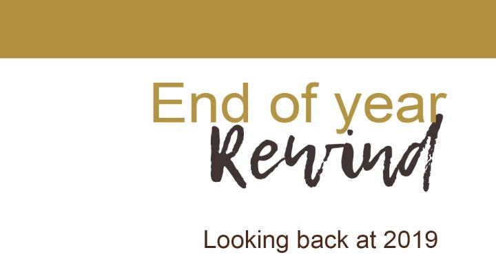 Year In Rewind:2019