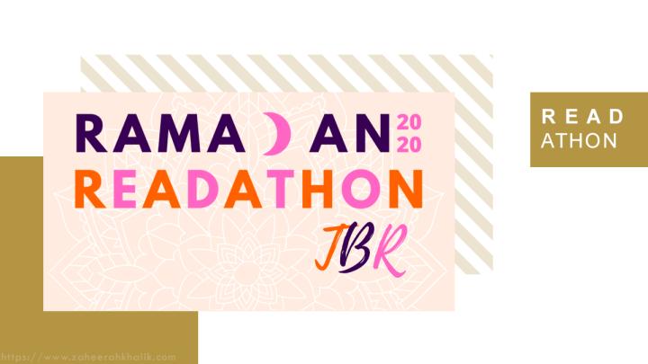#RamadanReadathon 2020 TBR!